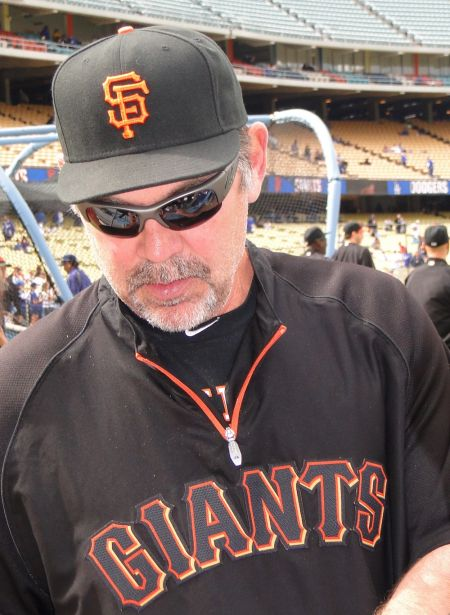 San Francisco Giants Manager Bruce Bochy could get a lot grayer this season, since the team has a few roster holes left to fill with just a