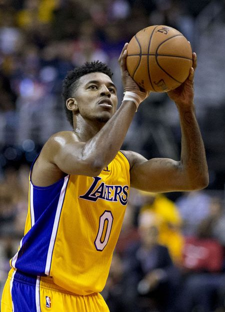 Los Angeles Lakers guard Nick Young would like to put his three-point shooting skills on display during the NBA's All-Star Weekend.