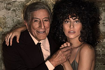 Lady Gaga neither confirmed or denied the possibility of a duet with Tony Bennett during her upcoming Super Bowl performance in a recent int