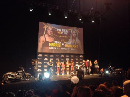 Lenee Breckenridge is the UFC's new PR head