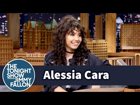 Watch Alessia Cara nail impersonations of Lorde, Nicki Minaj, and Ariana Grande on 'Fallon'