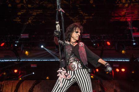 Alice Cooper is bringing his signature shock rock to Denver