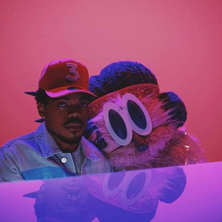Chance The Rapper's video for 'Same Drugs' showcases strange costars