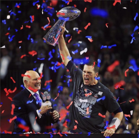 Handsome hero Tom Brady was named Super Bowl MVP once again