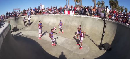 Where will the Harlem Globetrotters play next?