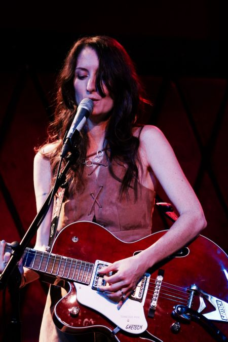 Maria Taylor performs at Rockwood Music Hall in New York City on Saturday