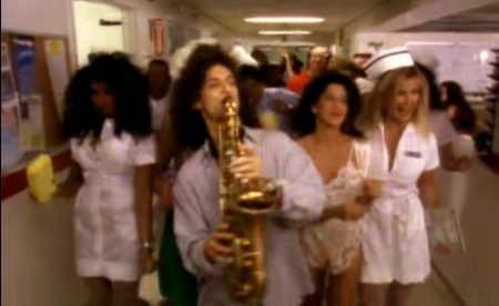 One of Kenny G's many colorful videos