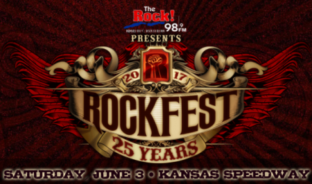 Godsmack and Sammy Hagar lead the way for Rockfest's 2017 lineup, which was announced on Monday.