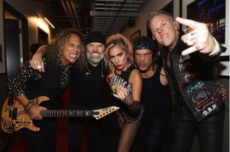 "Metallica discussed their performance with Gaga and more on ""Nightline."""