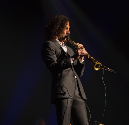 Kenny G will play the City National Grove of Anaheim on March 29