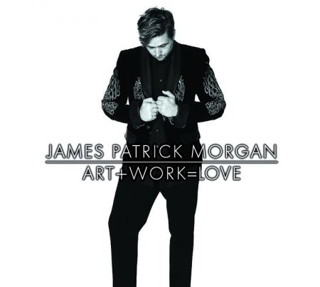 James Patrick Morgan 'Art + Work = Love' CD artwork