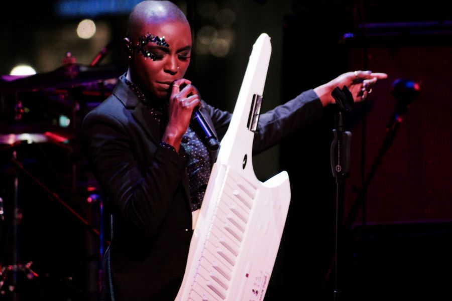 Laura Mvula performs at Lincoln Center in New York City