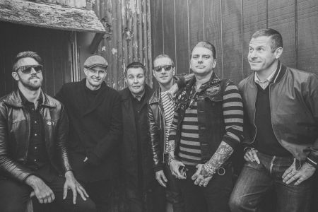 Celtic punk rock band Dropkick Murphys