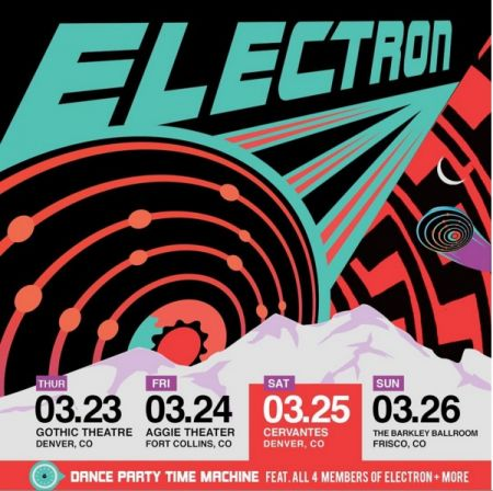 Electron will stop at Denver's Gothic Theatre March 23 on their Colorado run.