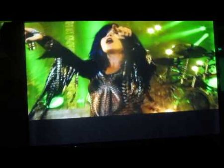 Arch Enemy premieres, discusses forthcoming DVD on board 70000 Tons of Metal