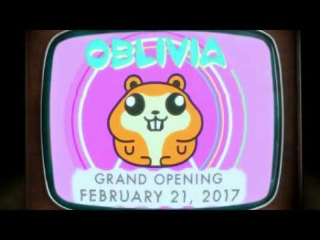 Katy Perry welcomes fans to Oblivia in a bizarre video