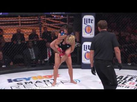 Female fight fans lining up to win date with Bellator's Ilima-Lei Macfarlane