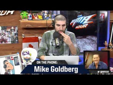 Former UFC commentator Mike Goldberg throws shade at MMA journalist Luke Thomas
