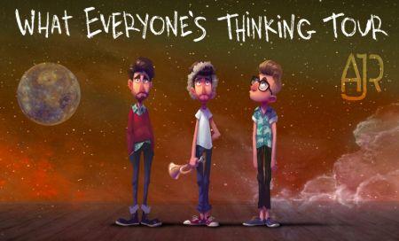 AJR announces their 'What Everyone's Thinking' tour