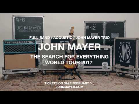 John Mayer extends world tour with summer dates