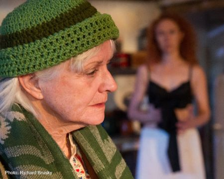 "Joan Mullaney portrays a complex mother engaged in a battle of wills in ""The Queen of Leenan."""