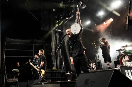 The Dropkick Murphys performing last year at ShamrockFest