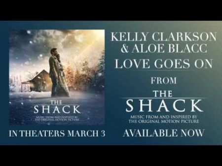 LISTEN: Get a taste of Kelly Clarkson's new album with she and Aloe Blacc's 'Love Goes On' from 'The Shack'
