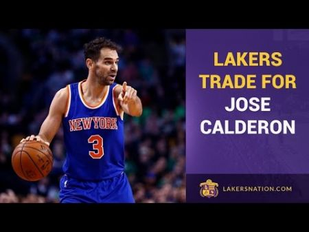Warriors favorites to sign Jose Calderon following Lakers buyout