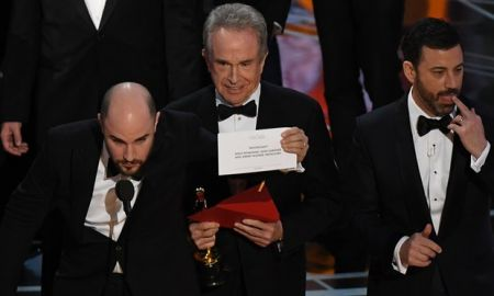 What just happened?  The 2017 Academy Awards end with the craziest fiasco in Oscar history
