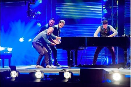 ThePianoGuys will be hitting Red Rocks Aug. 17.