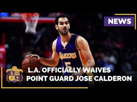 Lakers waive Jose Calderon, plan to sign David Nwaba of the D-Fenders