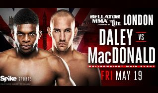 Bellator 179: DALEY vs MacDONALD tickets at The SSE Arena, Wembley in London