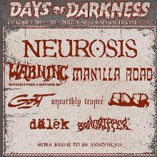 Days of Darkness Festival tickets at Rams Head Live! in Baltimore