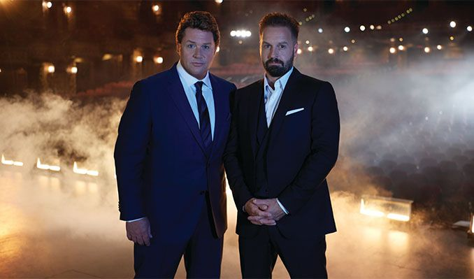Michael Ball & Alfie Boe tickets at Old Royal Naval College in London