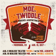 moe. / Twiddle tickets at Red Rocks Amphitheatre in Morrison