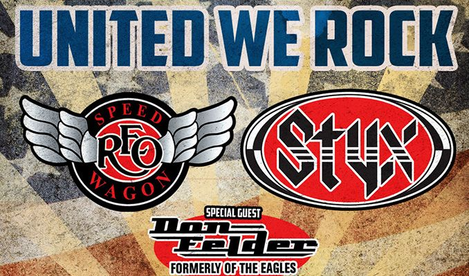 REO Speedwagon & Styx tickets at Bon Secours Wellness Arena in Greenville