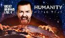 Ricky Gervais tickets at ERICSSON GLOBE/Stockholm Live in Stockholm