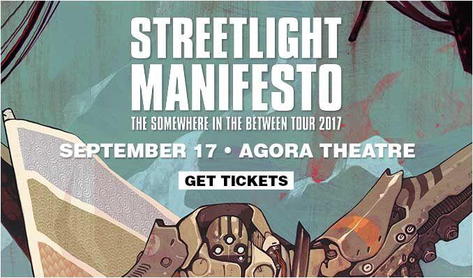 Streetlight Manifesto tickets at Agora Theatre in Cleveland