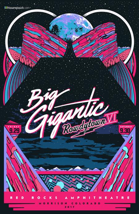 Big Gigantic announces annual Red Rocks shows, Rowdytown VI