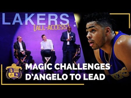 Magic Johnson reiterates desire to see D'Angelo Russell become Lakers' leader