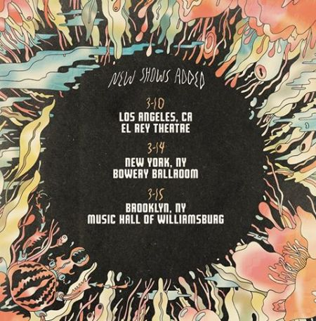 The Shins will be playing three special intimate shows in Los Angeles and New York City to celebrate the release of their new album.