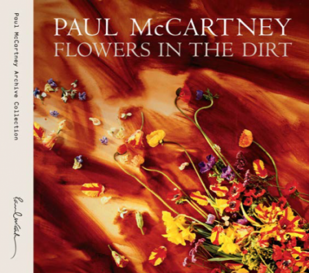 "The cover of the forthcoming Paul McCartney ""Flowers in the Dirt"" reissue."