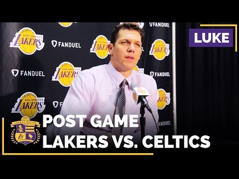 Luol Deng understands why Lakers coach Luke Walton is not playing him