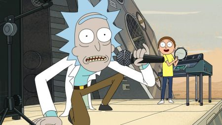 Rick and Morty have been known to bust out their own pop hits on the popular television show.