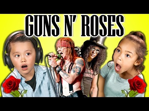 Watch: Kids react to the hits of Guns N' Roses
