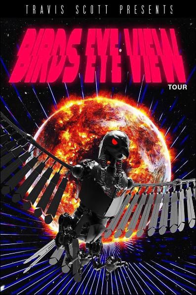 7adb25ebecab Travis Scott to launch Bird's Eye View tour at Santa Barbara Bowl on April  12
