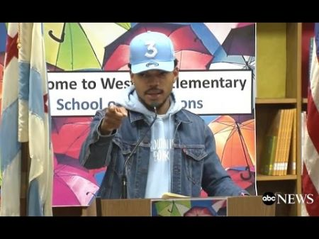 Chance The Rapper donating $1 million to Chicago public schools