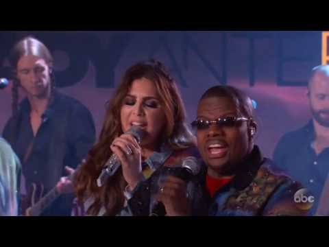 Watch Lady Antebellum, Bell Biv DeVoe mash up songs on 'Kimmel'
