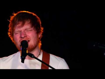 Ed Sheeran played an acoustic set at a secret NYC show