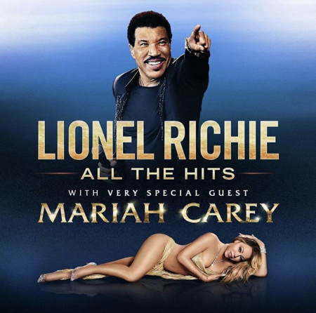 Lionel Richie and Mariah Carey are on their way to Atlanta's Infinite Energy